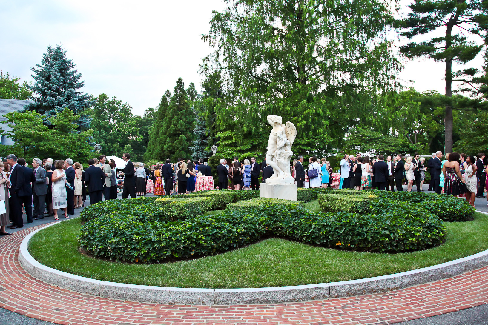 A party at  Hillwood Estate, Museum and Gardens