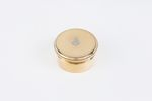 ROUND BOX FROM A DRESSING TABLE SET