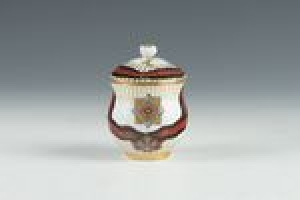 COVERED ICE CUP FROM THE ORDER OF ST. VLADIMIR