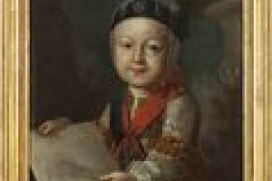 PORTRAIT OF PAUL I AS A CHILD