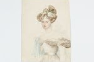GRAND DUCHESS (EMPRESS) ALEXANDRIA FROM THE MIDDLETON WATERCOLOR ALBUM