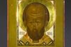 ICON WITH ST. NICHOLAS THE WONDER WORKER