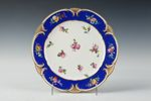 PLATE FROM THE MORGAN SERVICE, ONE OF FORTY-SEVEN