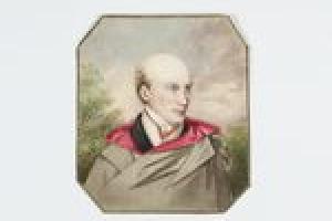 Count Joseph-Constantin von Ludolf  from the Middleton Watercolor Album