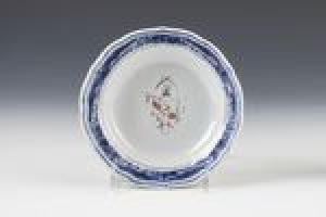 SAUCER FROM THE DALLING WITH FOSTER IN PRETENCE ARMORIAL SERVICE