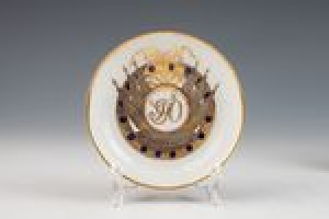 Coffee Saucer from the Orlov Service