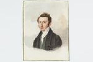 Baron Jacob Derk Burchard Anne van Heeckeren tot Enghuizen from the Middleton Watercolor Album