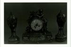 CLOCK FROM GARNITURE
