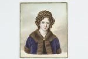 Countess Matilda Gardanne de Vaulgrennand, née de Betancourt y Molina, from the Middleton Watercolor Album