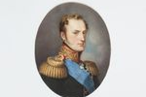 GRAND DUKE NICHOLAS PAVLOVICH (NICHOLAS I) FROM THE MIDDLETON WATERCOLOR ALBUM