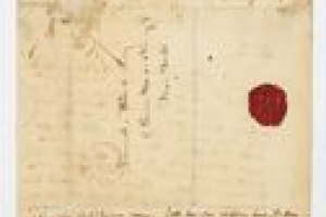 LETTER TO SAMUEL WARD