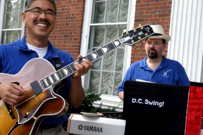 Musicians at Hillwood, Washington DC