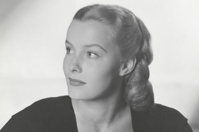 Dina Merrill, daughter of Marjorie Merriweather Post