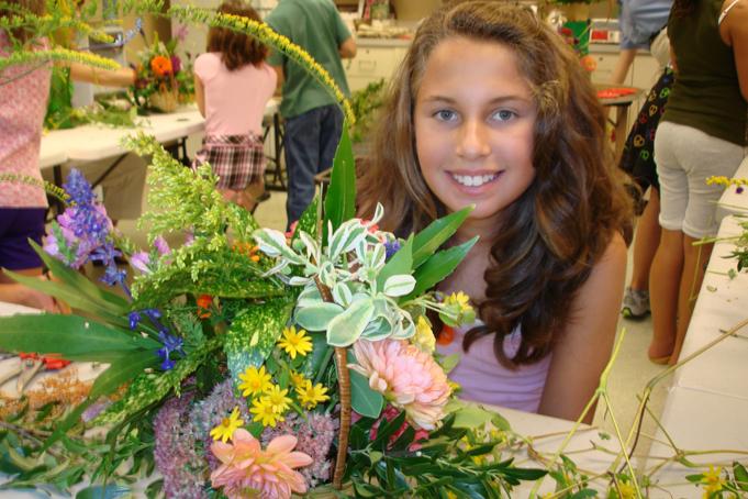 Garden workshop at Hillwood, Washington DC