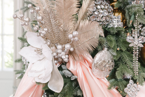 Haute Holidays at Hillwood in Washington, DC, inspired by the vintage fashions of Marjorie Merriweather Post