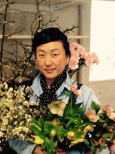 Ami Wilber, floral designer at Hillwood Estate, Museum & Gardens